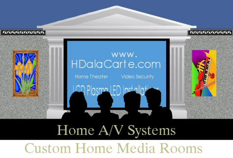 Home theater TV installation Los Angeles