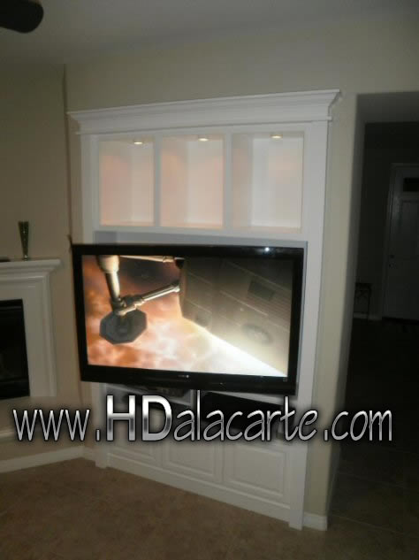 Home theater and TV installation Los Angeles